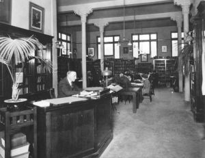 Carnegie Library,interior