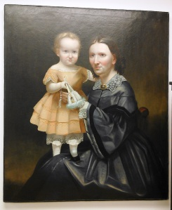 Allen oil painting, Abigail & Alfred