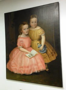 Allen oil painting, girls