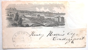 Envelope, 1870