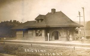 Alfred Station depot