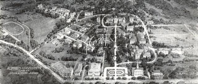 Campus Plan Map 1923