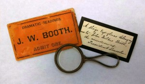Booth theater eyeglass