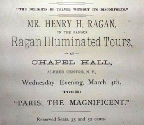 Ragan Magic Lantern Show